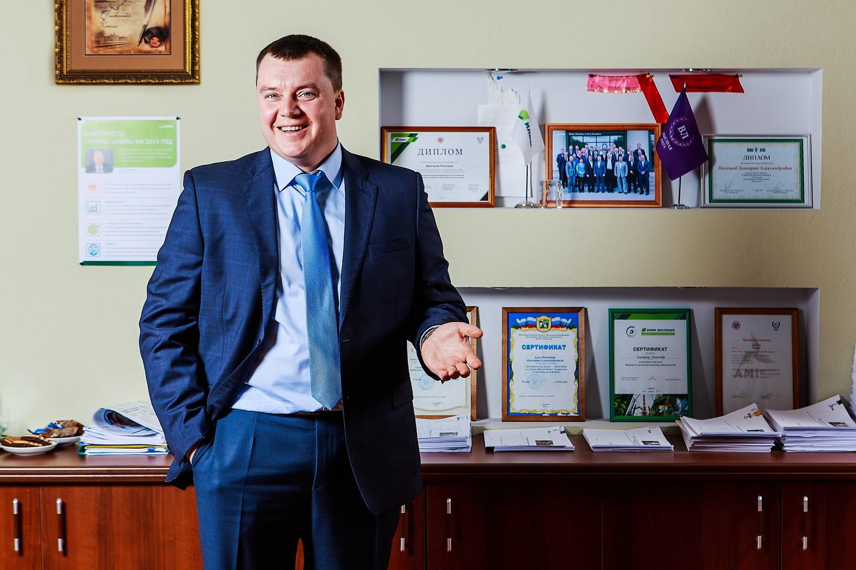 ДмитрийПахомов, директор лесного филиала ОАО «Группа «Илим» в Коряжме.